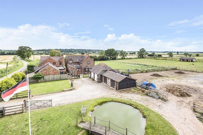 4 Bedrooms Detached House for sale in Broomfield Farm, Colehurst Lane, Off Smeaton Lane, Rugby
