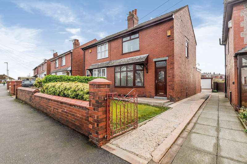 3 Bedrooms Semi Detached House for sale in Latham Lane, Orrell, Wigan, Greater Manchester, WN5