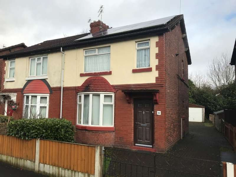 3 Bedrooms Semi Detached House for sale in 30 Hulton Avenue, Worsley, Greater Manchester