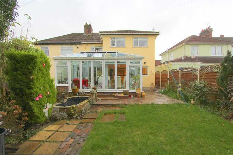 3 Bedrooms Semi Detached House for sale in Walsingham Road, Childwall, Liverpool