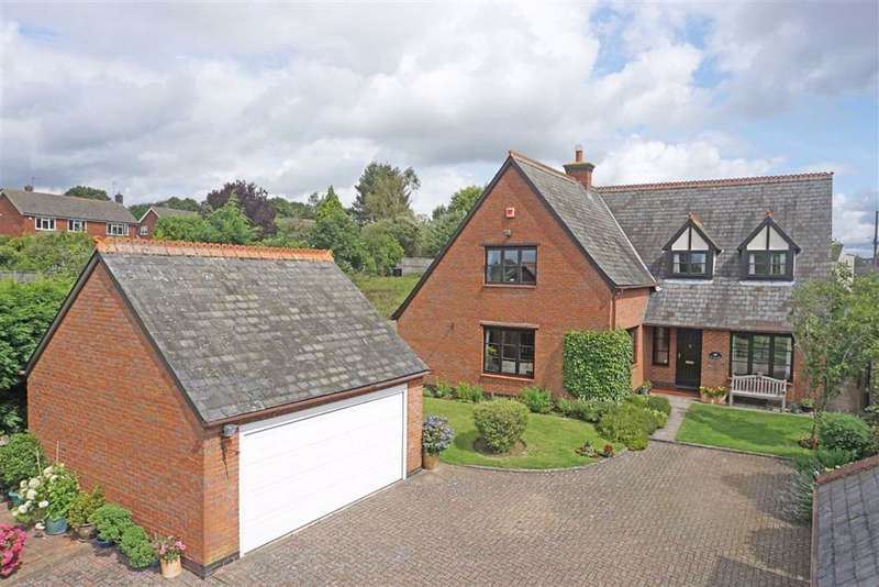 4 Bedrooms Detached House for sale in Hallaton Road, Tugby, Leicester