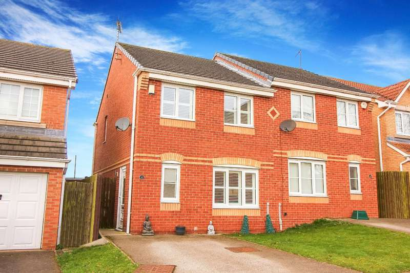 3 Bedrooms Semi Detached House for sale in Fairfield Grove, Murton, Seaham