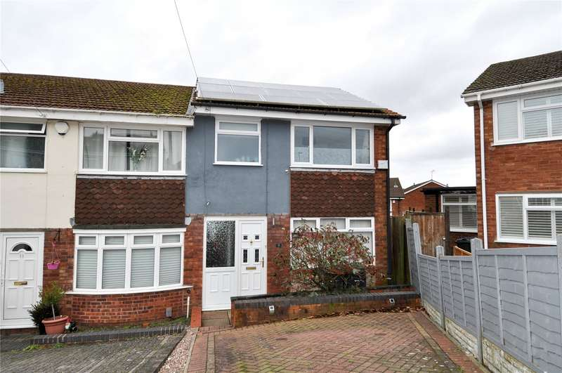 3 Bedrooms End Of Terrace House for sale in Green Drive, Bartley Green, Birmingham, B32
