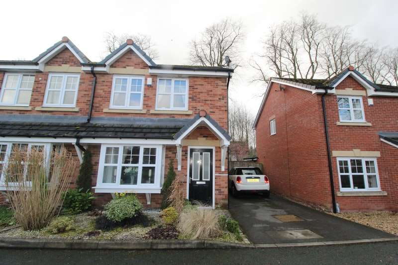 3 Bedrooms Semi Detached House for sale in Barrow Brook Close, Clitheroe, Lancashire, BB7