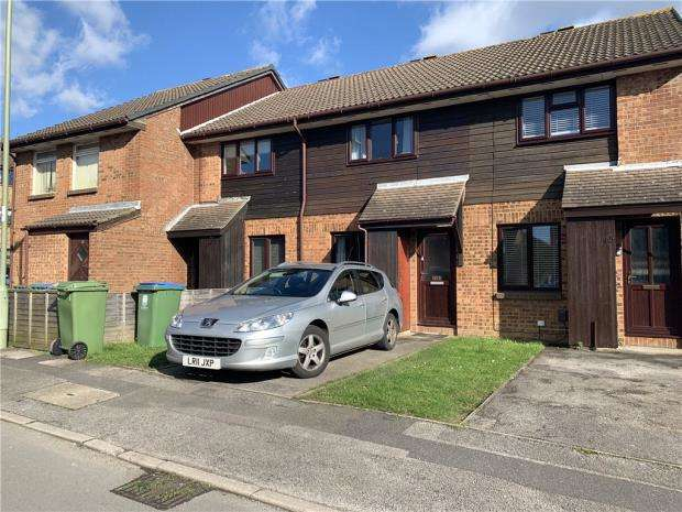 2 Bedrooms Terraced House for sale in Celandine Avenue, Locks Heath, Southampton