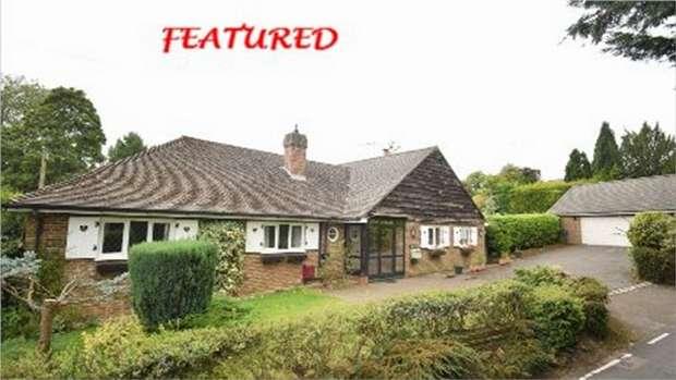 4 Bedrooms Detached Bungalow for sale in Stone Street Road, Ivy Hatch, Sevenoaks, Kent