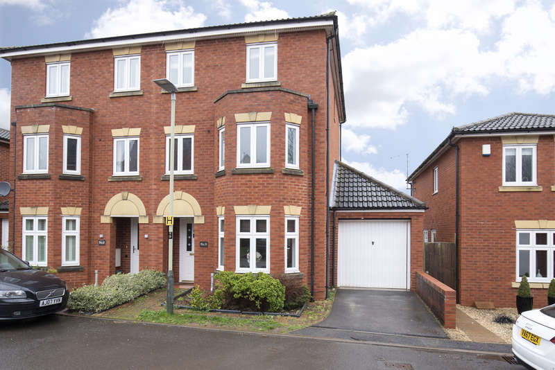 3 Bedrooms End Of Terrace House for sale in Sir Charles Irving Close, Cheltenham GL50 2DS