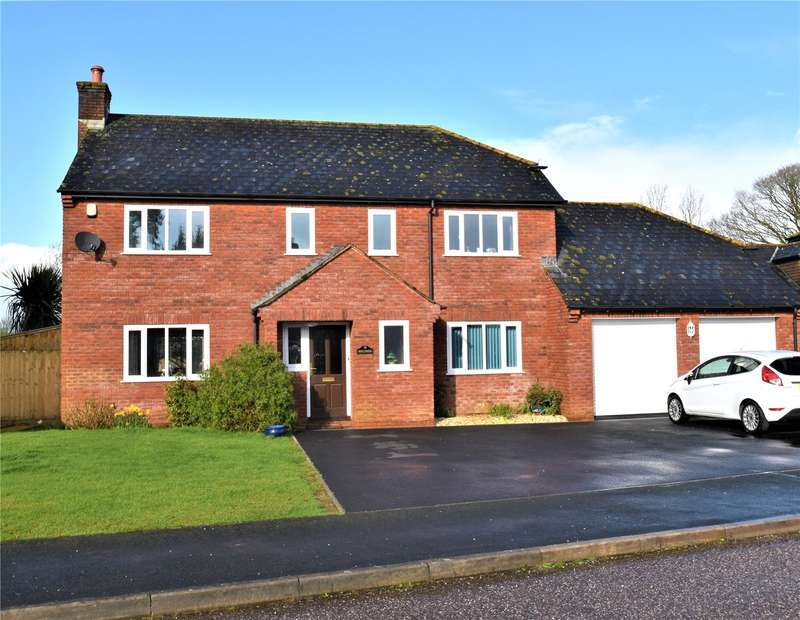 4 Bedrooms Detached House for sale in Trumps Orchard, Cullompton, Devon, EX15
