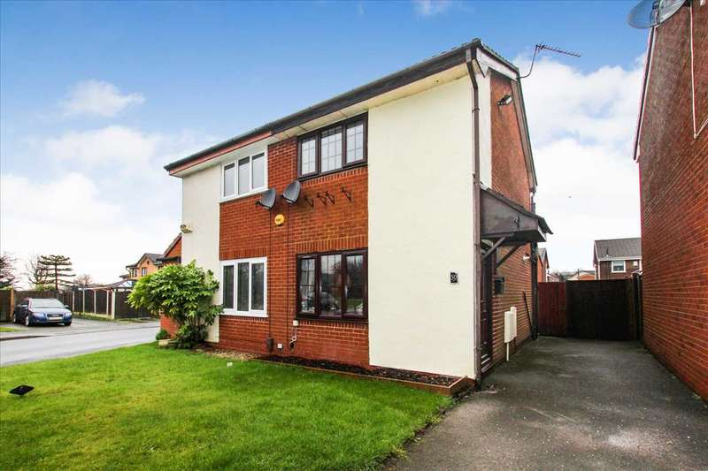 2 Bedrooms Semi Detached House for sale in Collingwood Way, Westhoughton