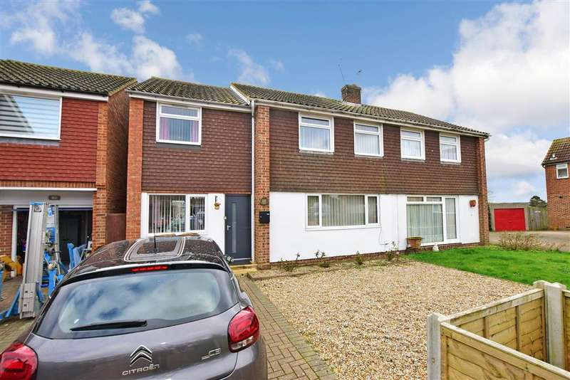 4 Bedrooms Semi Detached House for sale in Rowan Close, , Sturry, Canterbury, Kent