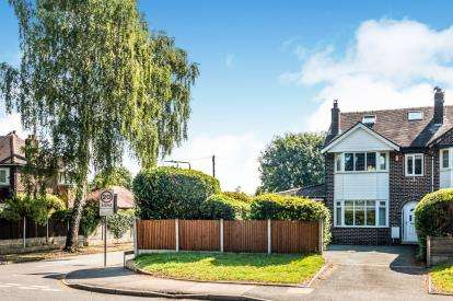 4 Bedrooms Semi Detached House for sale in Manor Avenue, Sale, Cheshire, Greater Manchester