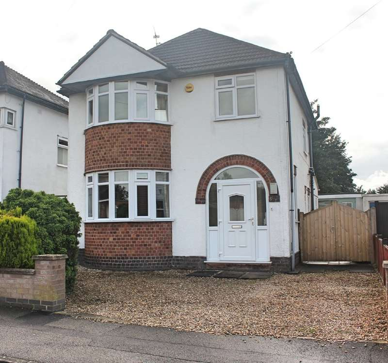 3 Bedrooms Detached House for sale in Hayes Road, Wigston, Leicester