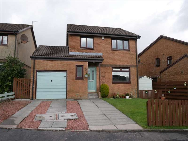 3 Bedrooms Detached House for sale in Medrox Gardens, Cumbernauld
