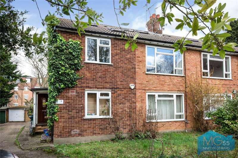 3 Bedrooms Maisonette Flat for sale in Holmdene, Holden Road, London, N12