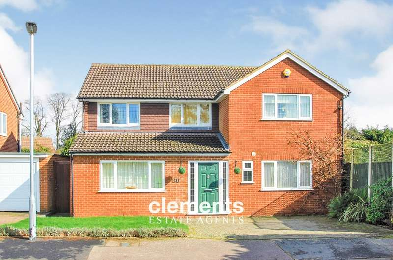 4 Bedrooms Detached House for sale in Leverstock Green, Hemel Hempstead
