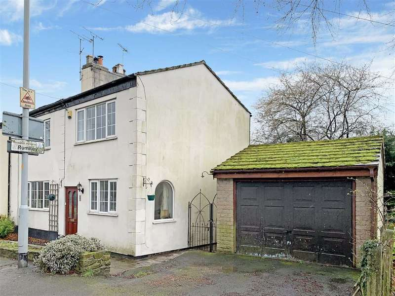 4 Bedrooms Semi Detached House for sale in Gorsey Brow, Romiley, Stockport