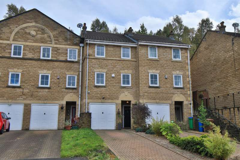 3 Bedrooms Town House for sale in Durnlaw Close, Littleborough, OL15 0BD