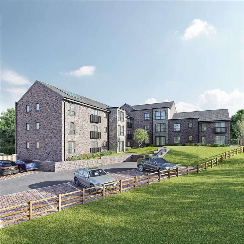 2 Bedrooms Apartment Flat for sale in Maxwell Court, Village, The Hunter, 3 Maxwell Court,Plot 3, EAST KILBRIDE