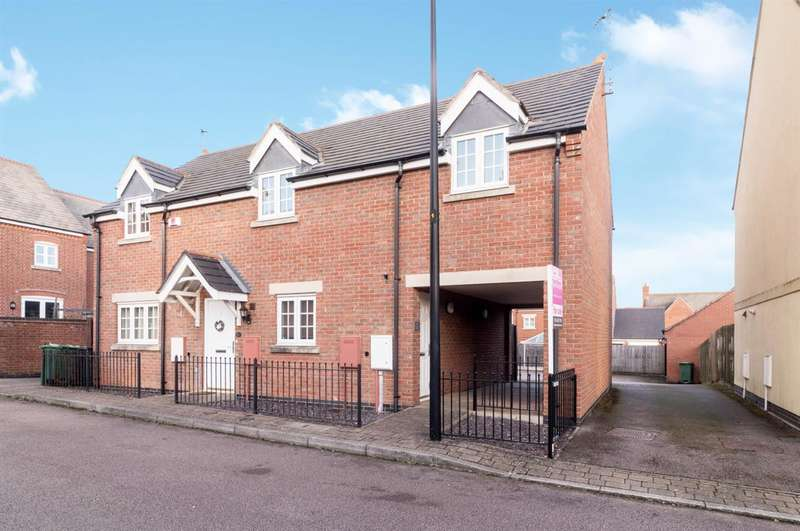 2 Bedrooms Apartment Flat for sale in Pinfold Close, Leicester