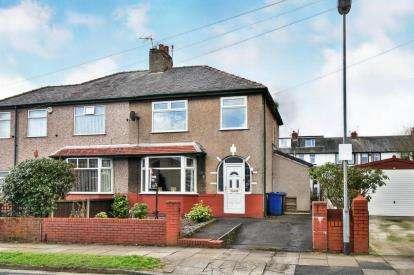 3 Bedrooms Semi Detached House for sale in Caernarvon Avenue, Burnley, Lancashire, BB12