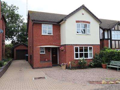 4 Bedrooms Detached House for sale in Greenway, Kibworth Beauchamp, Leicester