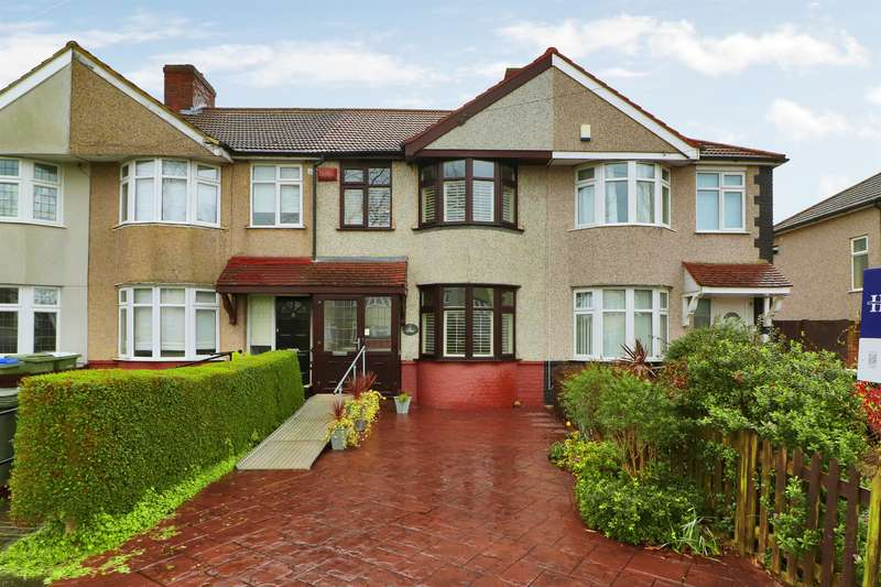 3 Bedrooms Terraced House for sale in Wellington Avenue, Sidcup, Kent, DA15 9HB
