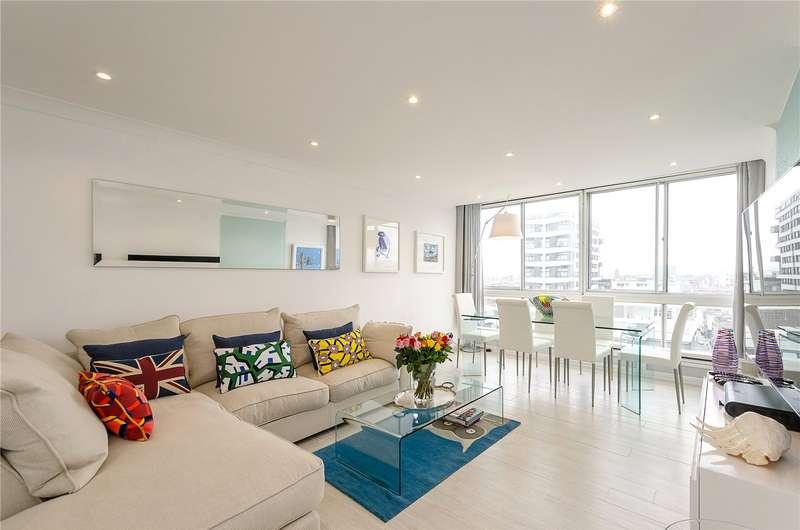 2 Bedrooms Flat for sale in Quadrangle Tower, Cambridge Square, London, W2