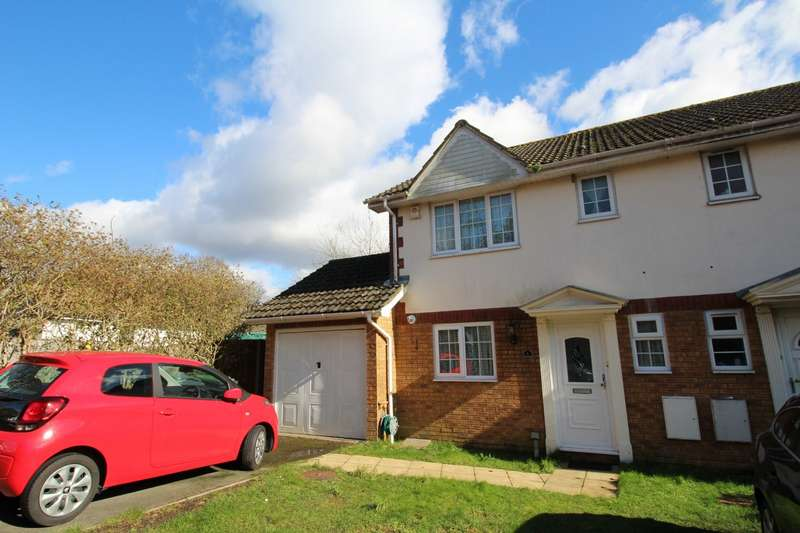 3 Bedrooms Semi Detached House for sale in St. Richards Gardens, Campbell Crescent, Waterlooville, Hampshire, PO7