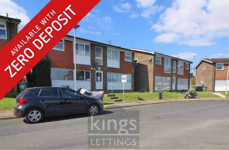 1 Bedroom Apartment Flat for rent in Berners Way, Broxbourne, EN10