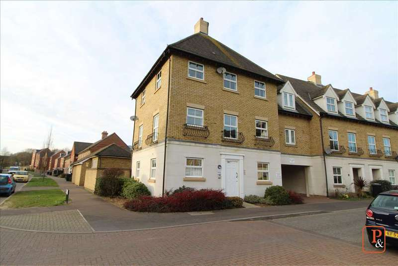 2 Bedrooms Flat for sale in Robin Crescent, Stanway, Colchester CO3