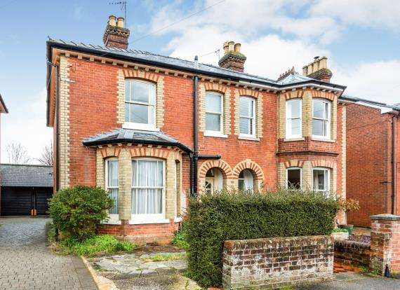 4 Bedrooms Semi Detached House for sale in Fairfields, Basingstoke, Hampshire
