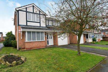 4 Bedrooms Detached House for sale in Barley Close, Glenfield, Leicester, Leicestershire