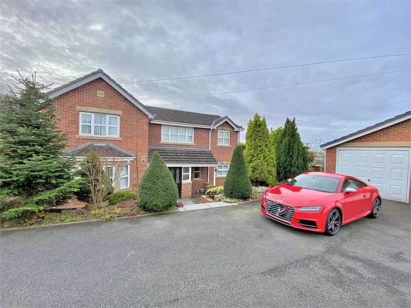 4 Bedrooms Detached House for sale in Hodgson Avenue, Freckleton