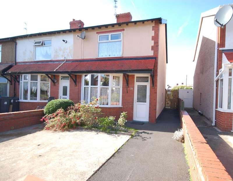 2 Bedrooms Semi Detached House for sale in Marton Drive, Blackpool