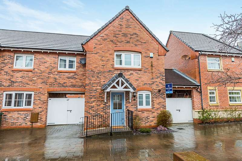3 Bedrooms Semi Detached House for sale in Chiltern Mews, Chorley, Lancashire, PR7