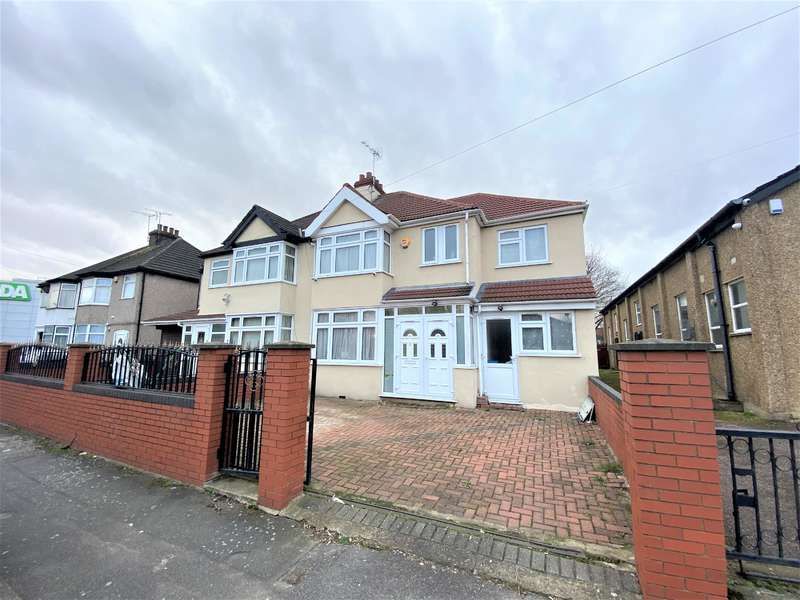 4 Bedrooms Semi Detached House for sale in Albert Road, Hayes, Middlesex, UB3 4HR