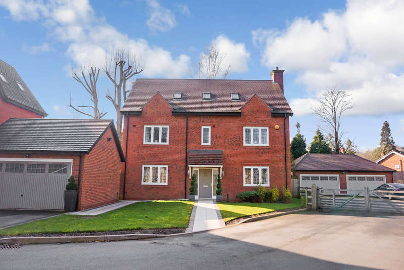 5 Bedrooms Detached House for sale in Grace Church Way, Sutton Coldfield