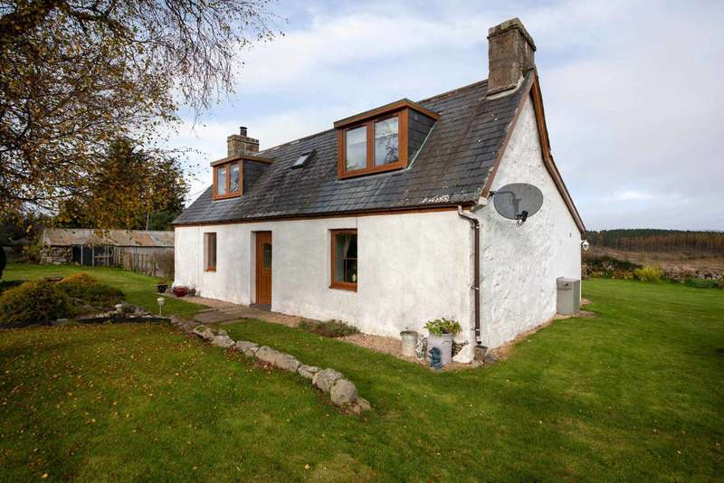 2 Bedrooms Cottage House for sale in Rheanbreck, Lairg, Sutherland, Highland, IV27 4DQ