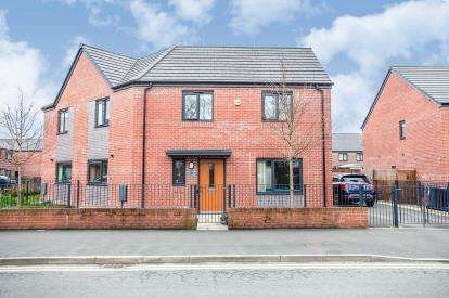 3 Bedrooms Semi Detached House for sale in Wenlock Way, Manchester, Greater Manchester, Uk