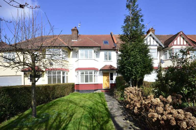 4 Bedrooms Terraced House for sale in Mayfield Avenue, North Finchley, N12