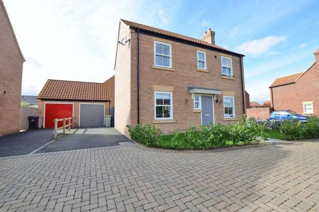 Detached House for sale in Hazel Walk, Alford, Parts Of Lindsey, LN13 9BX