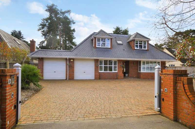 4 Bedrooms Detached House for sale in Ashley Drive West, Ashley Heath, BH24 2JW