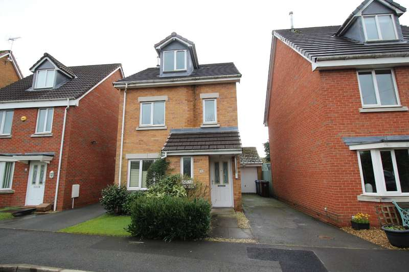 4 Bedrooms Detached House for sale in Station Close, Radcliffe, Manchester, Greater Manchester, M26