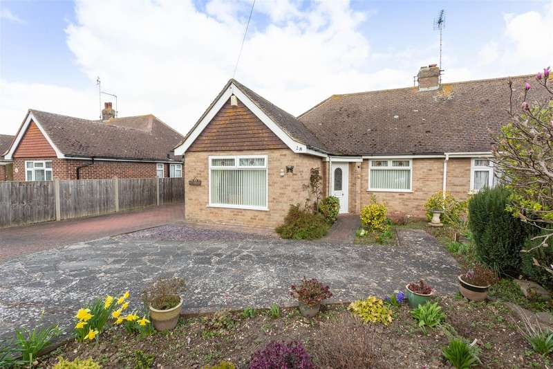 2 Bedrooms Semi Detached Bungalow for sale in Anne Close, Birchington
