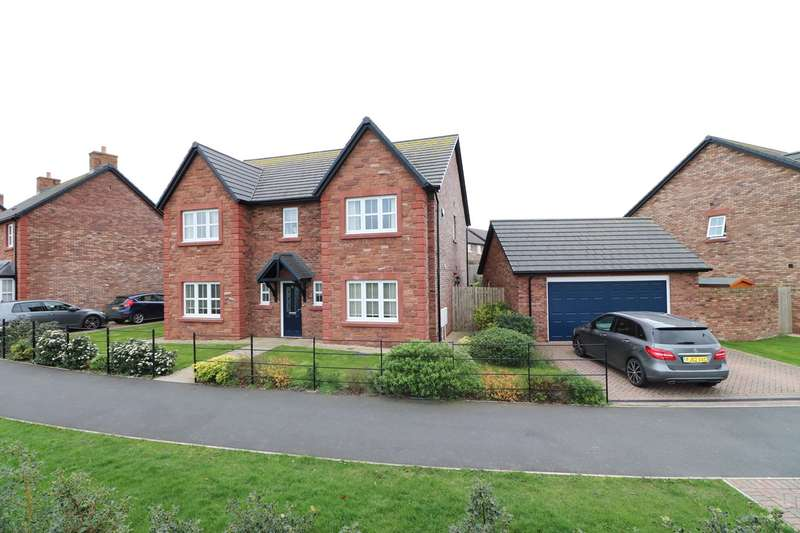 4 Bedrooms Detached House for sale in Crindledyke Lane, Kingstown, Carlisle, CA6