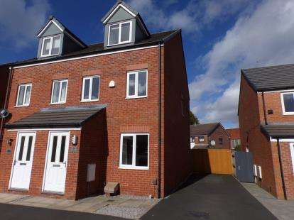 3 Bedrooms Semi Detached House for sale in Harrier Close, Lostock, Bolton, Greater Manchester, BL6