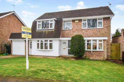 4 Bedrooms Detached House for sale in Tendring Drive, Wigston, Leicester, Leicestershire