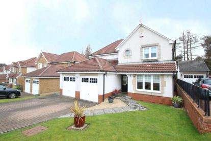 4 Bedrooms Detached House for sale in Westdale Drive, Moodiesburn, Glasgow, North Lanarkshire