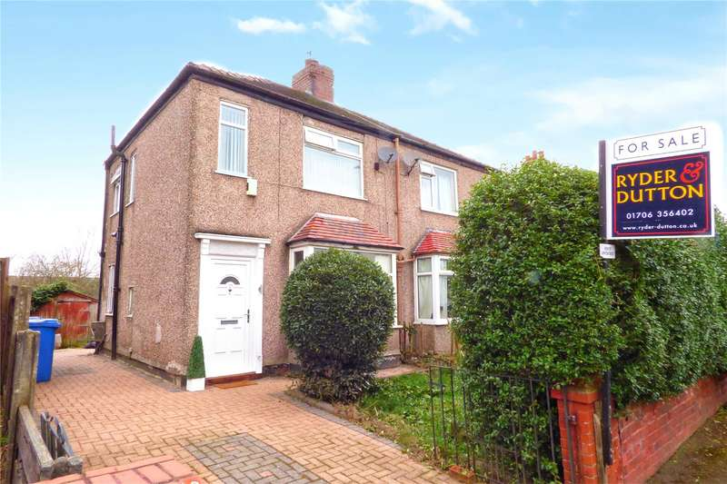 2 Bedrooms Semi Detached House for sale in Alder Road, Castleton, Rochdale, Greater Manchester, OL11