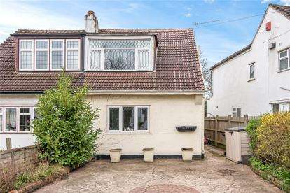 2 Bedrooms Semi Detached House for sale in Grasmere Gardens, Orpington, Kent